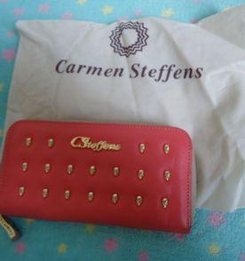 cdf1475a0d Carmen Steffens Carteira Feminina 2019 Nova ou Usada