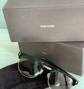 1ada17d9ed093 Óculos Tom Ford Ft 5379 52mm Grau   Óculos Masculino Tom Ford Nunca ...
