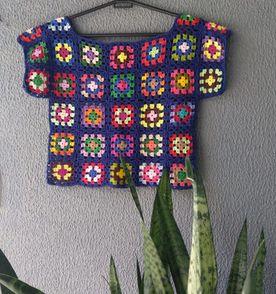 Moda Em Croche - Encontre mais belezas mil no site  enjoei.com.br ... 086d3220db1