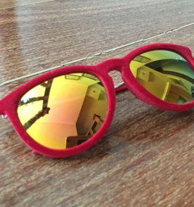 Oculos Rayban Espelhado lente azul R  399 · sonho sonho 9. nunca usado.  óculos aveludado com lente espelhada f2b59779d5