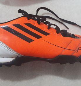 Adidas F50 Chuteira de Campo - Laranja ac41460d05421