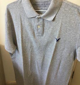 45aba5413a Camisa Polo Azul American Eagle - Encontre mais belezas mil no site ...