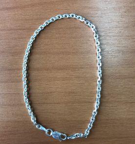 7a11dd019df pulseira de prata 925 modelo cartier