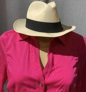 Chapeu Panama Faixa Preta - Encontre mais belezas mil no site ... af70aa611ec