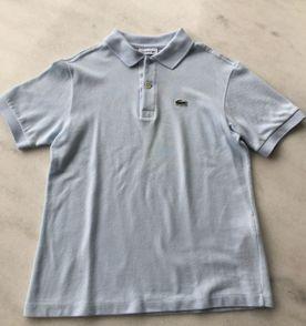 0f8ed2c765d47 Camiseta Polo Lacoste Original 100% Algodao Verde Tamanho 10 Anos ...