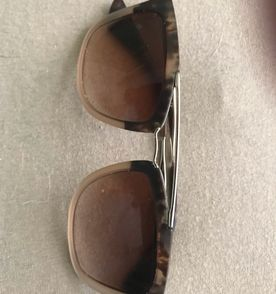 6fc60a3845445 Oculos De Sol Prada Marrom - Encontre mais belezas mil no site ...