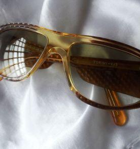 elegante,lindo e raro óculos vintage feminino de sol paco rabanne  paris,anos 80 25b26c2a4b