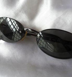 elegante,lindo óculos sol vintage italiano unissex calvin klein,anos 90 98b76ff364