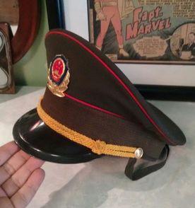 Militar Chapeu - Encontre mais belezas mil no site  enjoei.com.br ... 9686b708e38