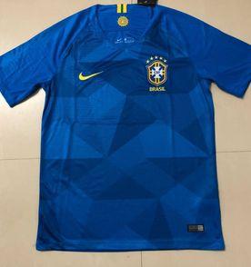 camisa camiseta nike seleção brasileira azul - copa rússia 2018 1552a41b1658e