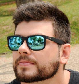 Ray Ban Justin Rb 4165 Masculino e Feminino   Óculos Masculino Ray ... a7c37dba18