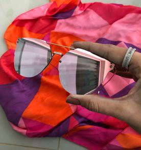 Óculos Giovana Antonelli Espelhado Rosa   Óculos Feminino Avon Nunca ... 392023313c