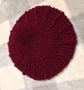 Como Fazer Boina De Croche - Encontre mais belezas mil no site ... a1fff1d047e