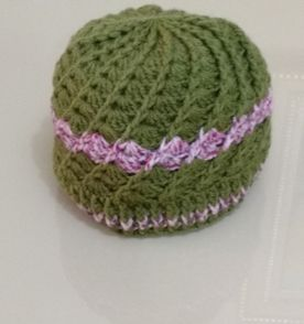 Boina Croche Verde - Encontre mais belezas mil no site  enjoei.com ... 247d143e298