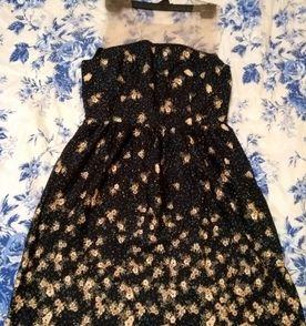 Vestido mini rosas ii antix