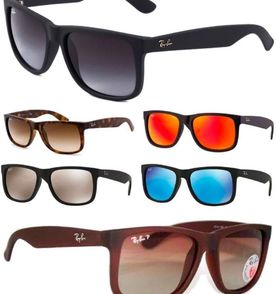 óculos de sol rayban justin rb4165 polarizado 1248c68a205f0