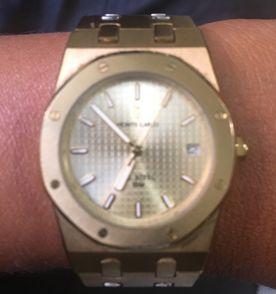 1e843dd8ce9 relógio monte carlo dourado
