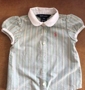 Bebe Camisa Social Ralph Lauren 18 Meses - Encontre mais belezas mil ... 5e1b9b93473