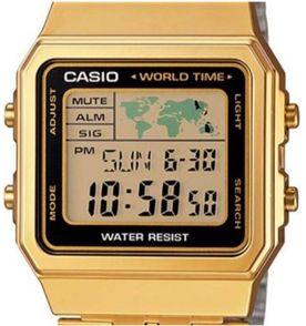 72a633cdbec relógio feminino a500wga- - casio 100 % original