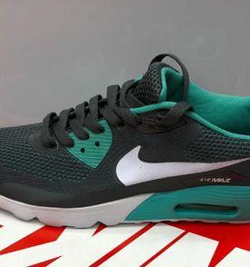 5f09fc4a8ffae tenis nike airmax cinza verde original oferta novo na caixa número 40