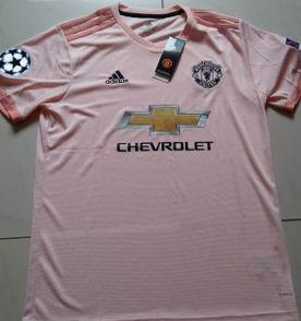 ddf1725e09 camisa adidas manchester united original 2018 19 away + patchs champions