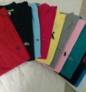kit 10 camisetas tommy, lacoste, reserva, dudalina e ralph lauren 6784db7b70