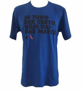 camisa camiseta regata reserva masculina estampa picapau frases algodão  básica tam g cor azul escura c4e0a6cb7f0
