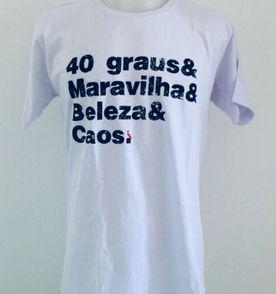 camisa camiseta regata reserva masculina algodão básica picapau frases 40  graus tam g cor branca d4d3f8de126