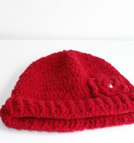 8c489432534a1 4bb4460cafa  Touca De Croche Vermelha - Encontre mais belezas mil no site  enjoei .
