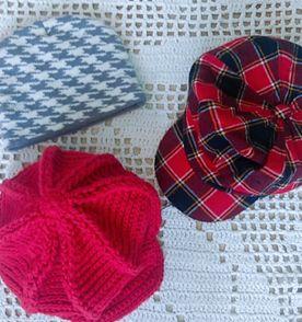 Boina De Croche - Encontre mais belezas mil no site  enjoei.com.br ... 20bec11ae50