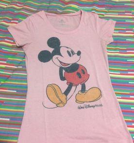 Disney Camiseta Feminina 2019 Nova ou Usada  154ad25e0f9e7
