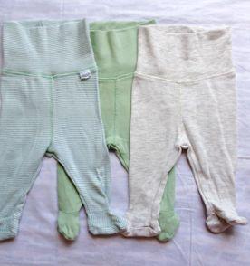 calças com pezinho   meiões   leggings para recém nascido h m algodão  orgânico dfa140fb398