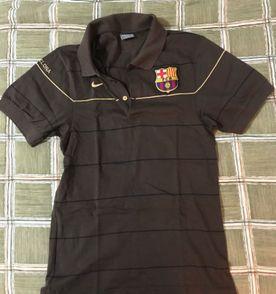 camisa Polo barcelona Nike f8aef281a495f
