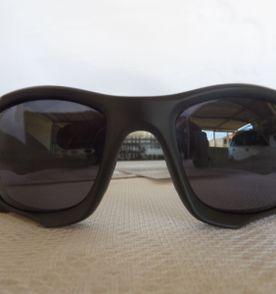 1cc650ec3 óculos oakley pit boss ii preto/grafite escuro polarizado - raridade
