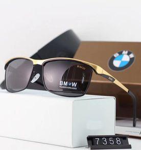 a080580937493 óculos de sol bmw Óculos de Sol BMW 735i Preto Ouro Polarizado - Importado e