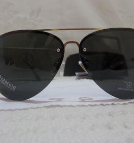 35633339c9227 Óculos de Sol Mercedes Benz MB743 Dourado Preto Polarizado - Importado e  Novo