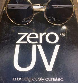 b1caa78333a90 óculos de sol importado dos eua (marca zerouv) estilo john lennon duas  lentes