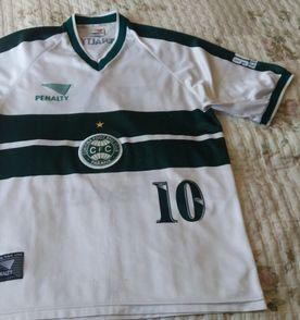 a6455ab047 camisa de futebol coritiba patch campeão 1999