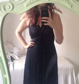 Vestido longo barato para formatura