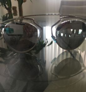 Oculos Christian Dior So Real   Óculos Feminino Dior Usado 31452978 ... 7b62afe69b