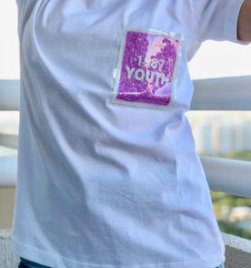 Camiseta Feminina 2019 Nova ou Usada Tamanho Único  8b501710feb