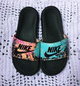 Chinelo Nike Benassi Borracha - Encontre mais belezas mil no site ... 19038aab446
