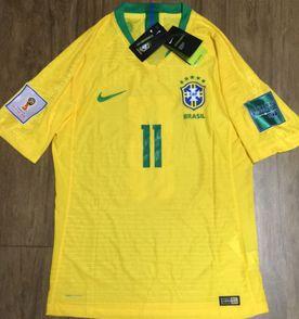 camisa brasil versão jogador nike vaporknit oficial coutinho 3bd8f7c00a25b