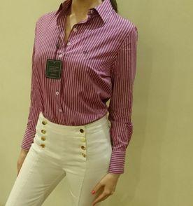dd69a0321c7 Lacoste Camisa Manga Curta Novo - Encontre mais belezas mil no site ...