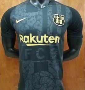 Camisa do Barcelona Preta 2 Original Importada Pronta Entrega ... 3292055baca6d