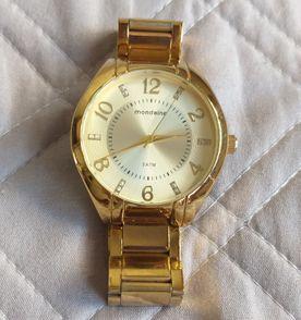1935ef06193 Relogio Mondaine Pink E Dourado - Encontre mais belezas mil no site ...