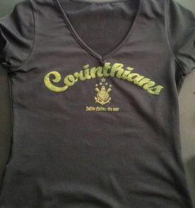 306dc7912d babylook oficial camisa Corinthians