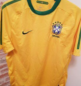 Camisa Brasil 2014 Azul Nike - Original - Nova com Etiqueta  7fdee52fdbae4