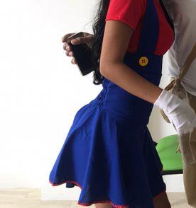 Fantasia Mario E Luigi Feminina - Encontre mais belezas mil no site ... 439171c2ba4