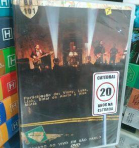 a16ca9c70d Dvd Duplo Asa de Aguia 20 Anos